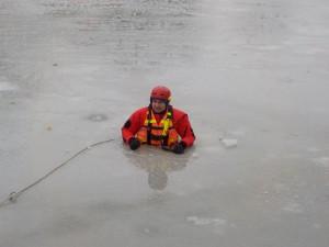 Cvičení na ledu - 10.1.2016